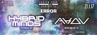 Fasten Your Seatbelts x ERROR w/ Hybrid Minds & Akov@Warehouse