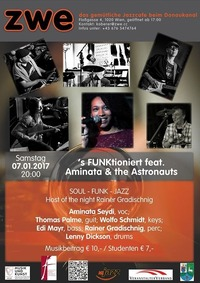 S FUNKtioniert feat. Aminata & the Astronauts@ZWE