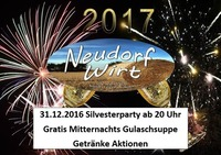 Silvester Party@Neudorf Wirt