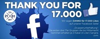 Thank You for 17.000 Likes !