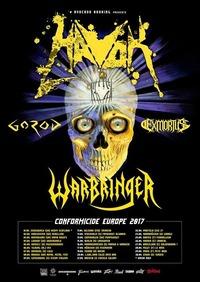 Havok / Warbringer / Gorod / Exmortus@Arena Wien
