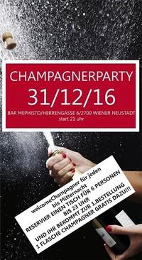 Champagnerfete-Silvester 2016@Bar Mephisto