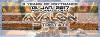3 YEARS of PSYTRANCE mit AVALON @Postgarage