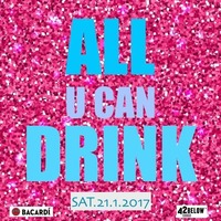 All u can Drink special @Inside Bar