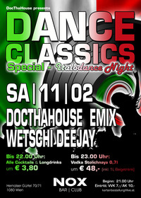 ★ DANCE CLASSICS Special – Italodance Night ★@Nox Bar