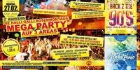 Die Halli Galli Rosenmontags Mega Party Auf 3 Areas@Vulcano