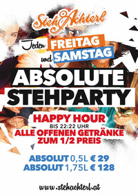 Absolute Stehparty@Stehachterl