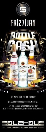 Bottle BASH@Salzhaus