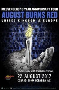 August Burns Red / 22. August 2017 / 6. Kultursommer - Festival@Conrad Sohm