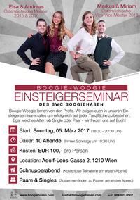 Boogie-Woogie Einsteigerseminar der Boogiehasen@Hauptschule Adolf Loos Gasse