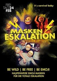 Masken Eskalation - Mega Faschingsparty@Johnnys - The Castle of Emotions
