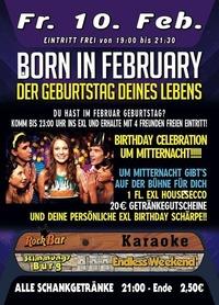 Born In February@Excalibur
