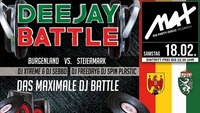 MAX presents ▲▲ Deejay Battle ▲▲