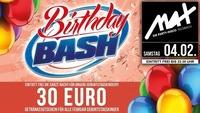 ▲▲ Birthday BASH ▲▲@MAX Disco