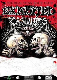 The Exploited / The Casualties / Code Red Organisation@Arena Wien