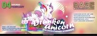 Drunken Unicorn Einhorn Alarm@BASE