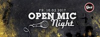 Open Mic Night im GEI Musikclub, Timelkam@GEI Musikclub