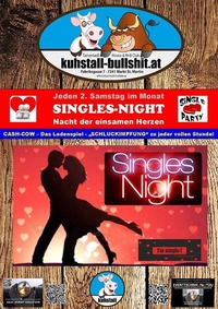 2. Samstag im Monat SinglesNight at Kuhstall Bullshit@Kuhstall