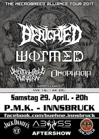 Benighted / Wormed / Unfathomable Ruination / Omophagia +support@Abyss Bar