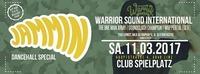 Jammin - Dancehall Special - Warrior Sound International (GER)@Club Spielplatz