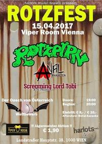 Rotzfest 2017 - Rotzpipn, Die ANALphabeten, Screaming Lord Tobi@Viper Room