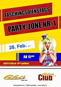 Faschingdienstags-Party@Cafeti Club