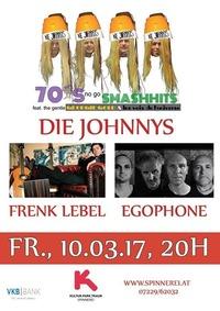 Egophone / Die Johnnys / Frenk Lebel@Spinnerei