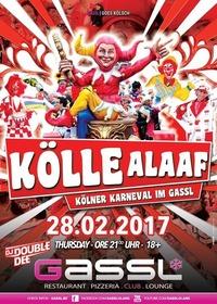 Kölle Alaaf - Kölner Karneval im Gassl@Gassl
