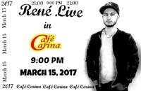 René Live in Café Carina@Café Carina