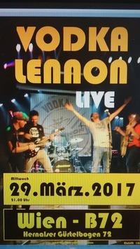 Vodka Lennon live im B72@B72