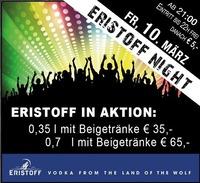 Eristoff Night@Partymaus Wörgl