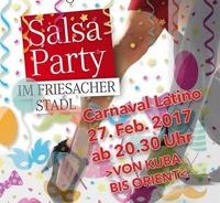 Faschings-SalsaParty im Friesacher Stadl@Friesacher Stadl