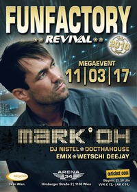 FunFactory Revival | Megaevent - MARK 'OH LIVE @CLUB 34