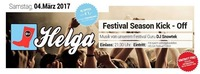 Helga: Festival Season Kick Off im GEI Musikclub@GEI Musikclub