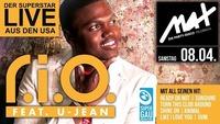 MAX presents ▲▲ RIO feat. U-Jean LIVE ▲▲@MAX Disco