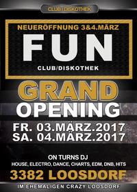 Grand Opening - Club Diskothek Fun@FUN