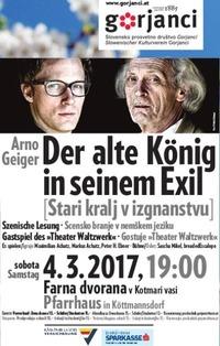 Der alte König in seinem Exil (Theater Waltzwerk)@SPD Gorjanci