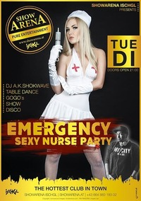 Emergency Sexy Nurse Party @ShowArena Ischgl@Showarena