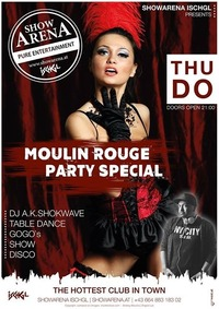 Moulin Rouge Party Special @ShowArena Ischgl@Showarena
