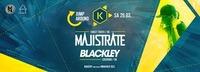 Majistrate + Blackley · Kantine Salzburg@Die Kantine