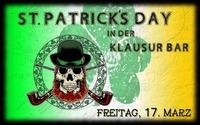St. Patrick's Day 2017 @Klausur Bar@Klausur Bar