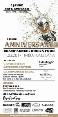Champagner/Rock&Food@Tribusplatz Lana