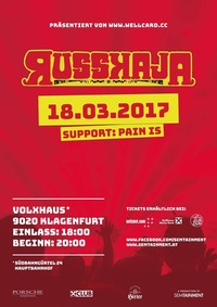 Russkaja & Pain is@Volxhaus - Klagenfurt