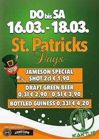 St. Patricks Days@Kaktus Bar