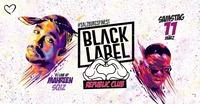 BLACK LABEL - REPUBLiC CLUB - #DiePartyImWohnzimmer@Republic