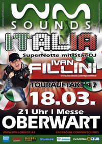 WM-SOUNDS Tourauftakt mit Star-DJ Ivan Fillini