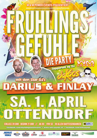 Frühlingsgefühle mit Darius & Finlay