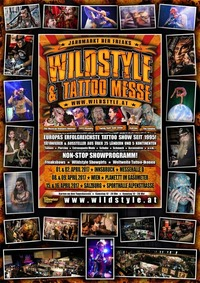 Wildstyle & Tattoo Messe@Gasometer - planet.tt