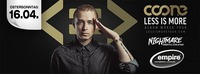COONE - Less is more World Tour@Empire St. Martin