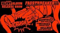 Faustbreaker Release Wien - Klynt, Brewtality, Mechanix, Hellrex@Viper Room